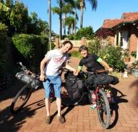 La partenza da Maylands, Perth