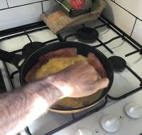 Breakfast in Collie