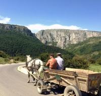 Scendendo da Cheile Turzii verso Turda