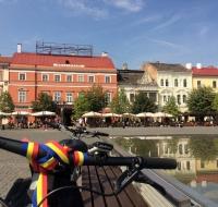 Cluj Napoca, piazza Unirii