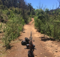 Incastro di catena vicino a  Bidjar Ngoulin Hut
