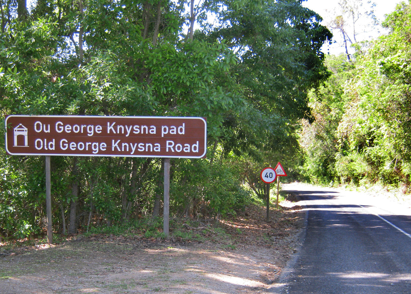 """Sulla \""""Old Route from George to Knysna\"""""""